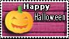 Halloween Pumpkin-deviantStamp by LaAlex
