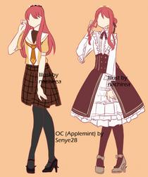 Raffle Prize: 4/5 Applemint by Jikanne-Ryoko
