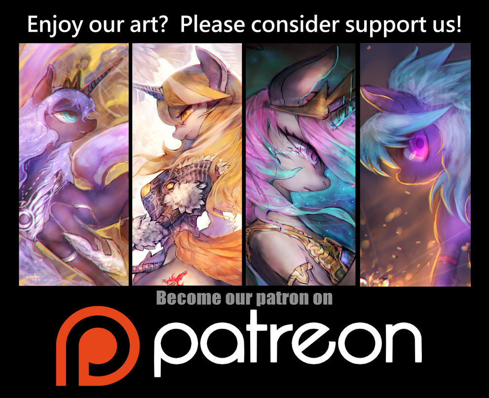 Support us on Patreon! by girlsay