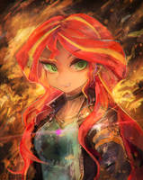 [Practice] Sunset Shimmer by girlsay