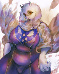 [Practice]Toriel by girlsay