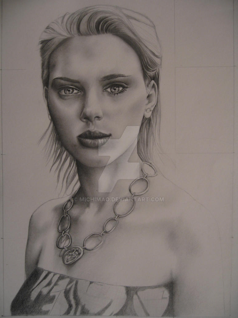 Scarlett Johansson by michimao