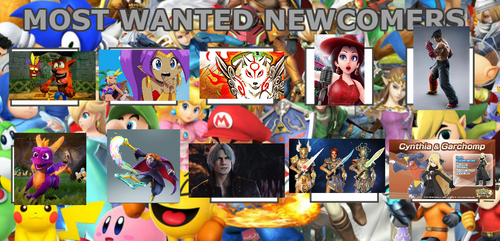 Characters I would like to see in Smash Brothers
