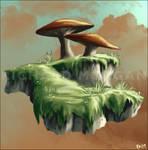 Mushroom Island - Uni work
