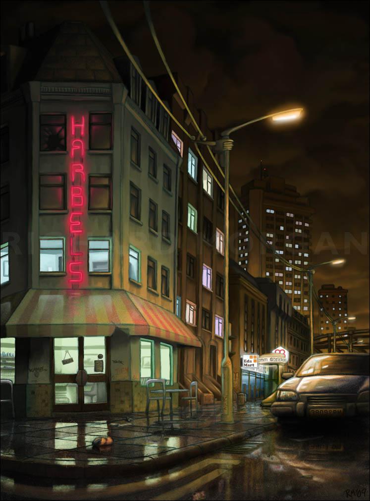 AMETHYST: Harbel's Cafe by zonefox