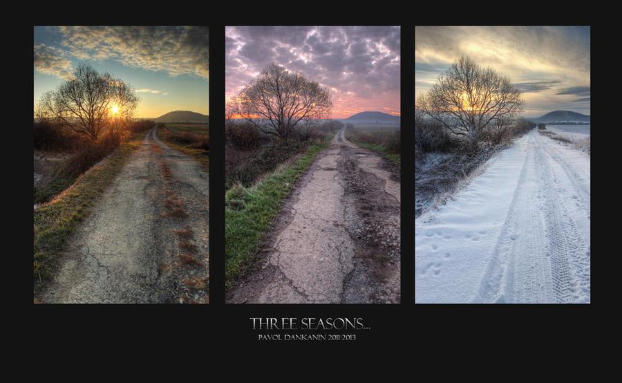 3 seasons... winter remake ! by DILEsvk