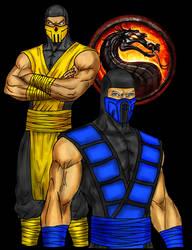 Scorpion And Sub-Zero