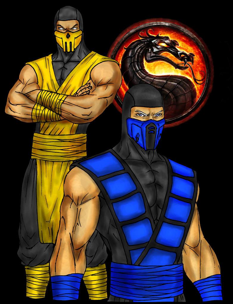 Scorpion And Sub-Zero by DHK88 on DeviantArt