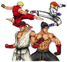 Tekken X Street Fighter: Rival by DHK88