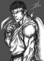 Ryu Sketch by DHK88