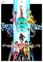 Power Rangers by DHK88