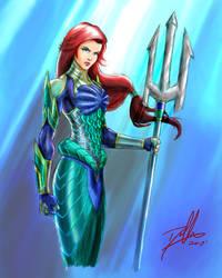 Ariel: Disney Warrior Princess by DHK88