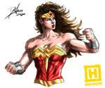 Wonder Woman - SKETCH BY HYNSHK