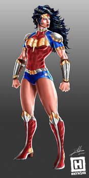 Wonder Woman - Champion Armor Design by HYNSHK