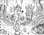 Crash Bandicoot and Aku Aku