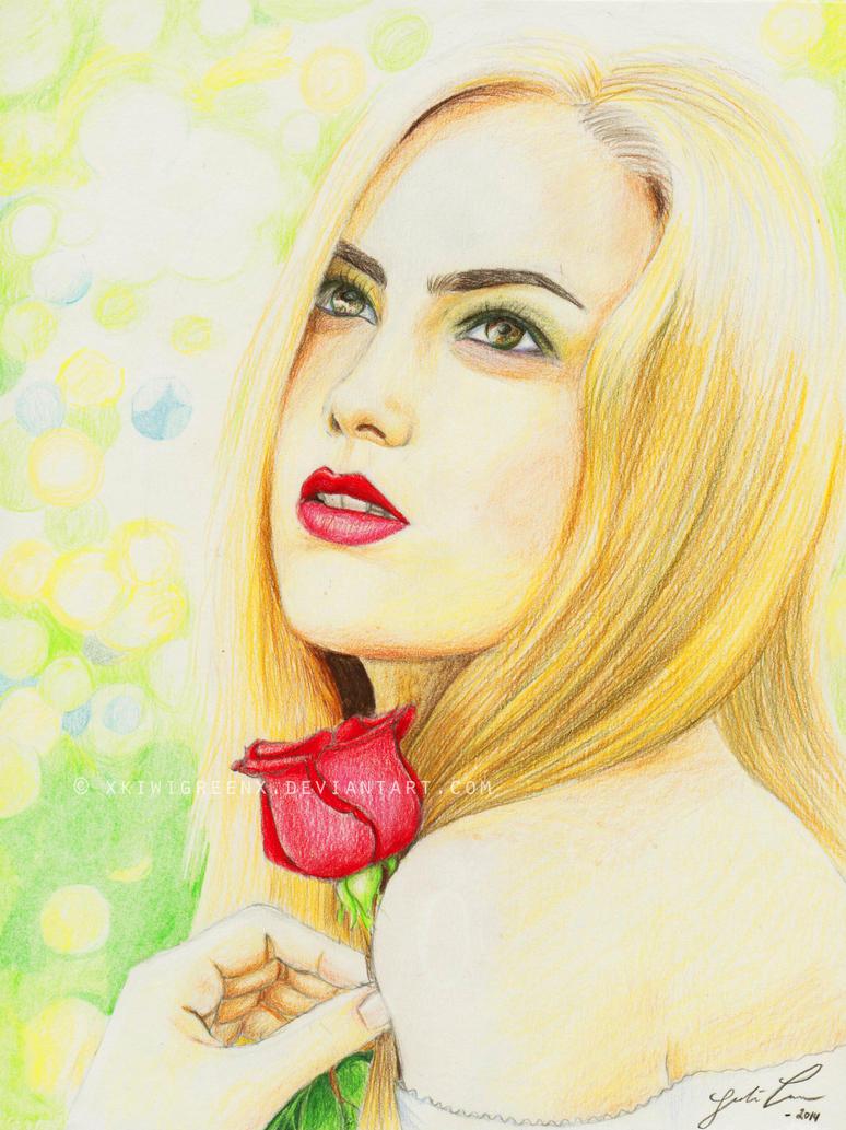Ofelia's rose by mickinene