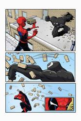 Spidey vs. Venom #2 by Rogulja
