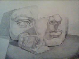 Plaster Face still life
