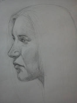 Portrait from Mercedesz