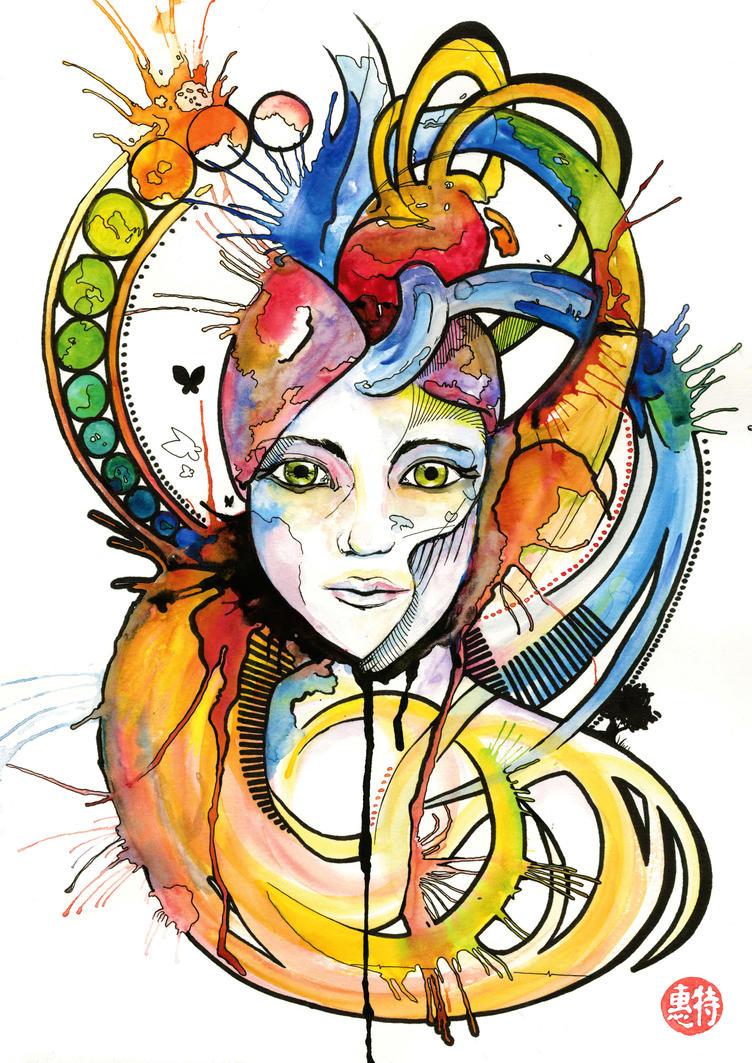 Queen of hearts - Miguel Trigo Moran by TrigoMoran