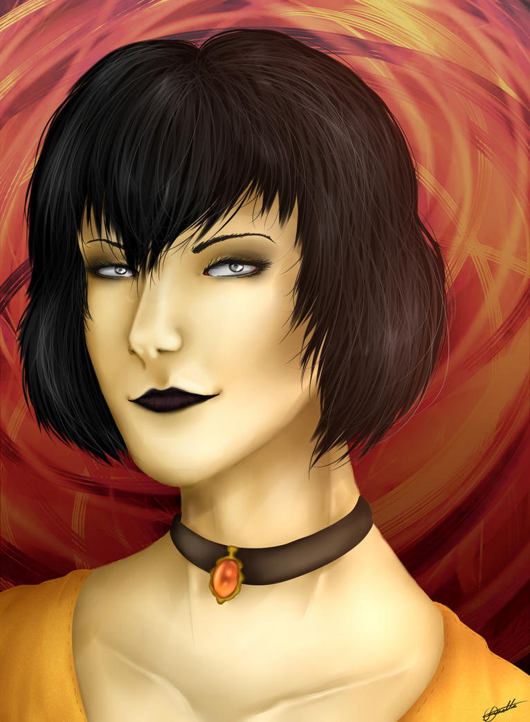 [ISM] Portrait - Alice by Ndilnaii
