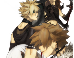 Kingdom Hearts Jrock by oso-oso