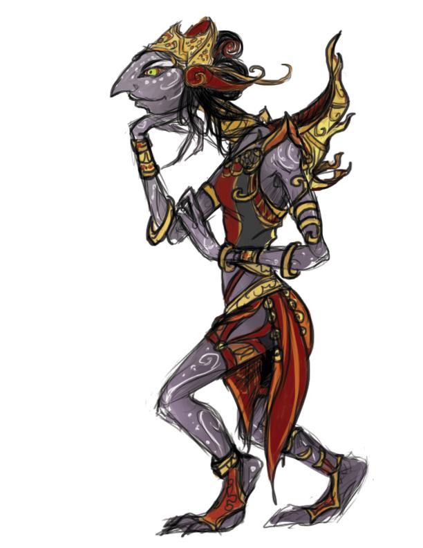 wayang bloodrager by brettdagirl on deviantart
