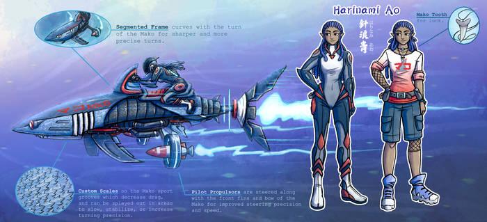 Radical Racer- Mako Speed