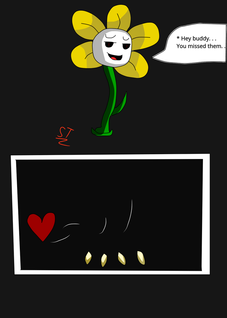 Flowey is annoyed of your choices. by AfterfellChara