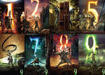 9 Stitchpunk Background