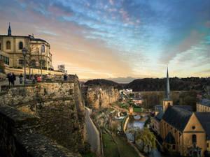 Luxembourg Grund - i