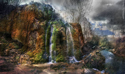 Waterfall Three Mills by seriousFry