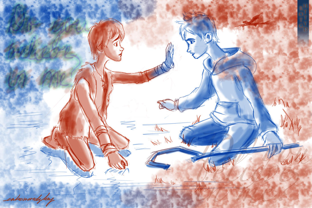 Hiccup And Jack Frost: Do You Believe In Me? By