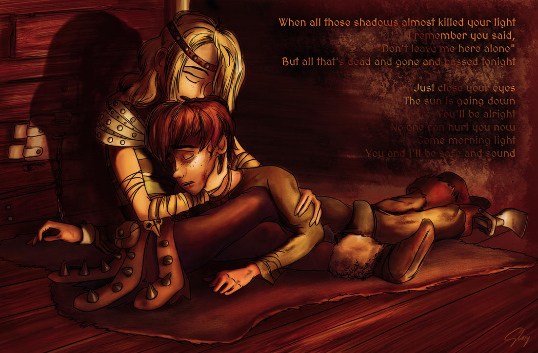 Safe and sound hiccup and astrid by inhonoredglory on deviantart safe and sound hiccup and astrid by inhonoredglory ccuart Image collections