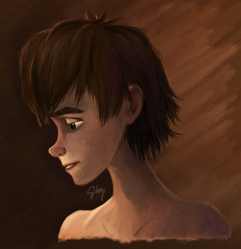 Portrait of Hiccup by inhonoredglory on DeviantArt