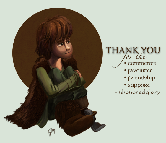 Thank You by inhonoredglory