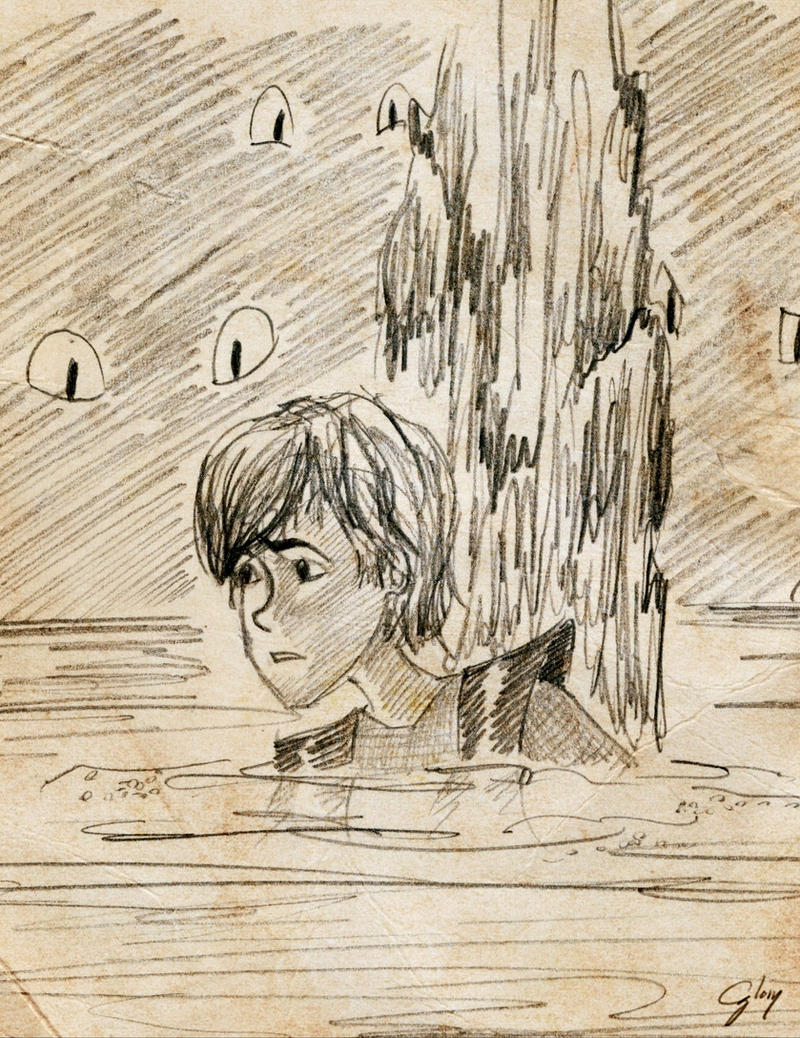 Sketch: Hiccup in the Execution Chamber by inhonoredglory