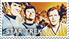 The Trio of Star Trek Stamp by inhonoredglory
