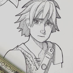 Hiccup Haddock, RTTE ed #2 by inhonoredglory