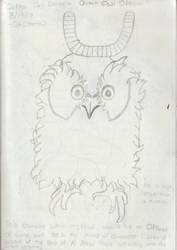 Giant Owl Official by SriLankanStaringFrog