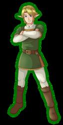 Ordonian Hero by General-Link