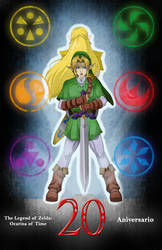 OoT 20th Anniversary by General-Link