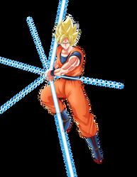 Super Saiyan Goku by General-Link