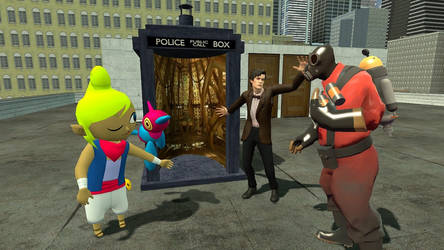 GMod: The Best Episode of Doctor Who by TEi-Has-Pants