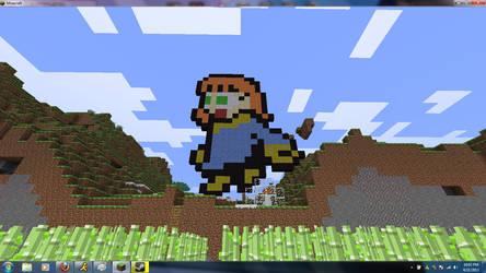 8-Bit Fuzz in Minecraft