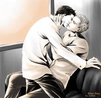 SPN:Dean,Castiel 2 by chjkiasato