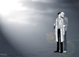 SPN:Only U. Dean,Castiel 3 by chjkiasato