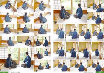 Kimono, Hakama 01[Stock Pack] by boyspose