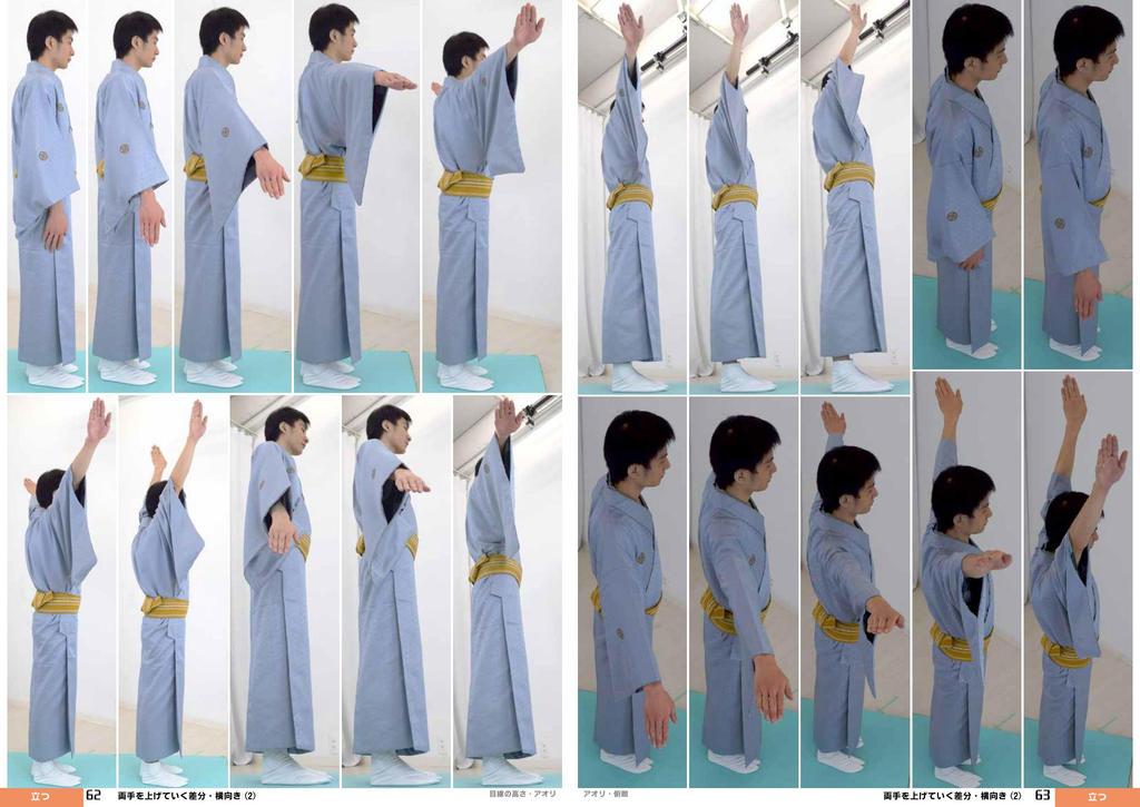 Kimono, Hand Raised, Side  [Stock Pack] by boyspose