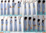 Kimono, Hand Raised, Side  [Stock Pack] by boyspose